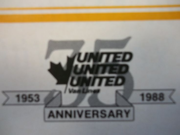 In 1988, United Van Lines (Canada) Ltd. celebrated its 35th Anniversary. The company launched the vision: The Perfect Move.