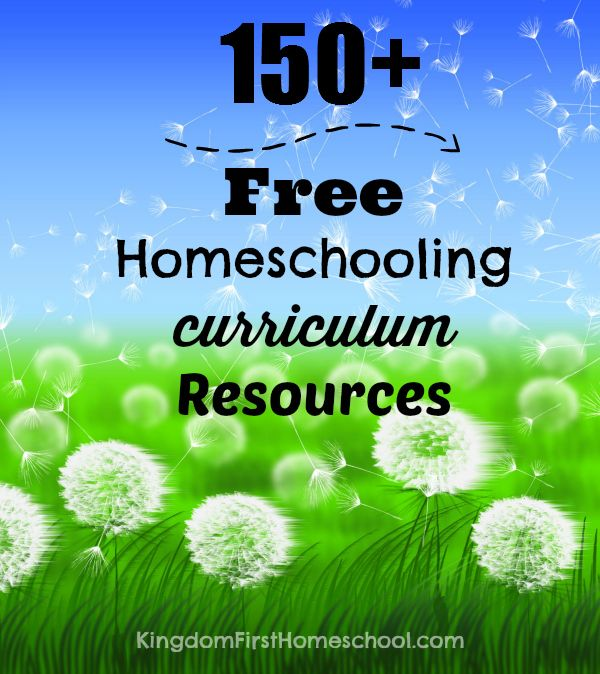 The Ultimate homeschool For free List