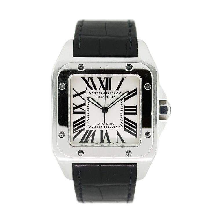 Cartier Santos 100 XL! £5,999.50 Blowabag.com #Cartier #Watches #WatchPorn #Blowabag