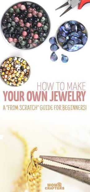 These jewelry making tutorials are perfect for beginners. It's a great way to learn how to make jewelry from scratch. DIY jewelry crafts are fun and easy . #JewelrySupplies #jewelrymakingsupplies #jewelrymakingtutorials #howtomakejewelryforbeginners