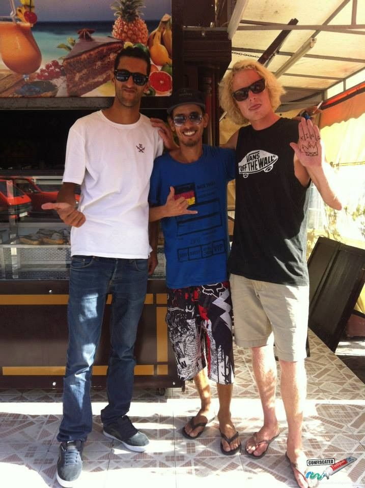 Surf school instructors in Tahghazout  Madness in Morocco Part 1: Intimidation, Mint Tea, and Hammams -->  http://www.confiscatedtoothpaste.com/madness-in-morocco-part-1-intimidation-mint-tea-hammams/