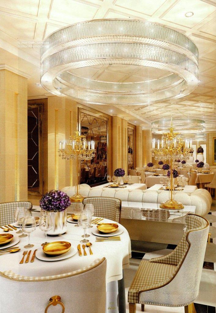 Golf Clubhouse Fine Dining Restaurant By GAJ Interiors Dubai