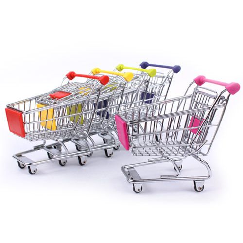 """""""INFMETRY:: Mini Shopping Cart"""" #cuteofficesupplies"""