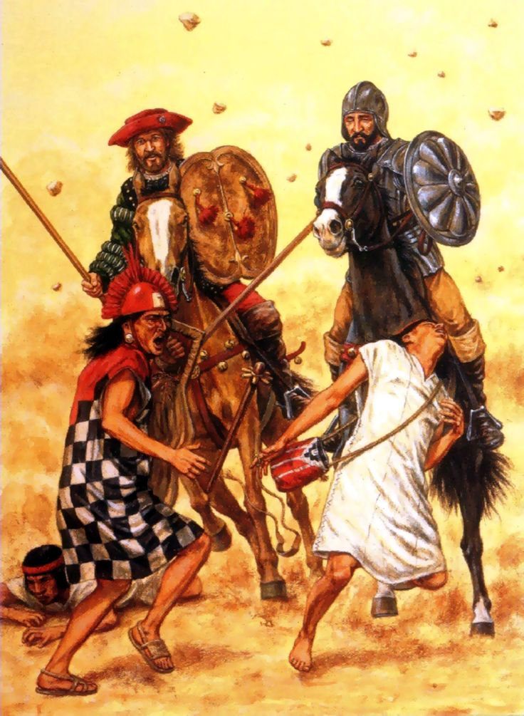 spanish conquistadors dbq Spanish conquest dbq in the late 1400 s spanish explorers traveled to the new world in search of three things god, glory, and gold the attitudes towards.