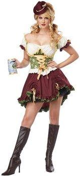 Beer Garden Girl Plus Size Costume (more details at Adults-Halloween-Costume.com) #oktoberfest #halloween #costumes
