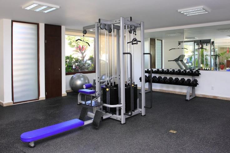 para estar en forma, moderno gym