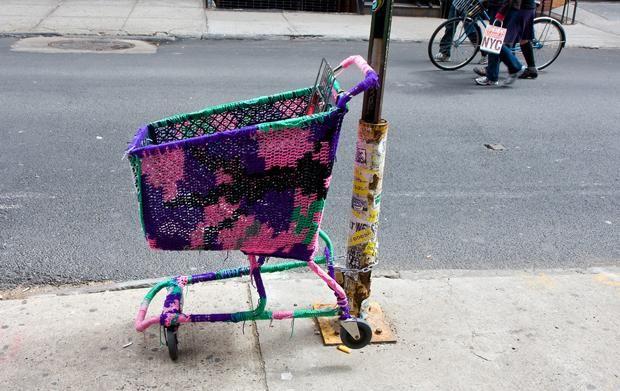 Yarn Bombing:  14 Street Art Terms—Illustrated! | Mental Floss
