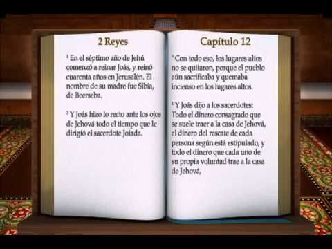 "LA BIBLIA "" 2 REYES "" COMPLETO REINA VALERA ANTIGUO TESTAMENTO - YouTube"