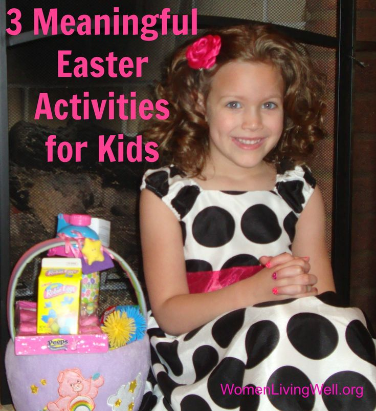 3 meaningful easter activities