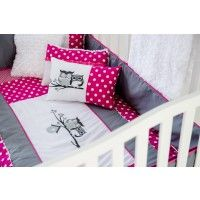 ensemble de literie hibou rose de b b carrousel chambre b b pinterest b b et roses. Black Bedroom Furniture Sets. Home Design Ideas