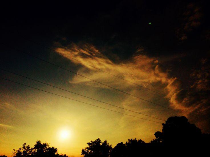 Magia. Alba meravigliosa in @AREA Science Park: foschia e sole per il mio #iocorroqui @RunLovers @wwwmeteoit #trieste