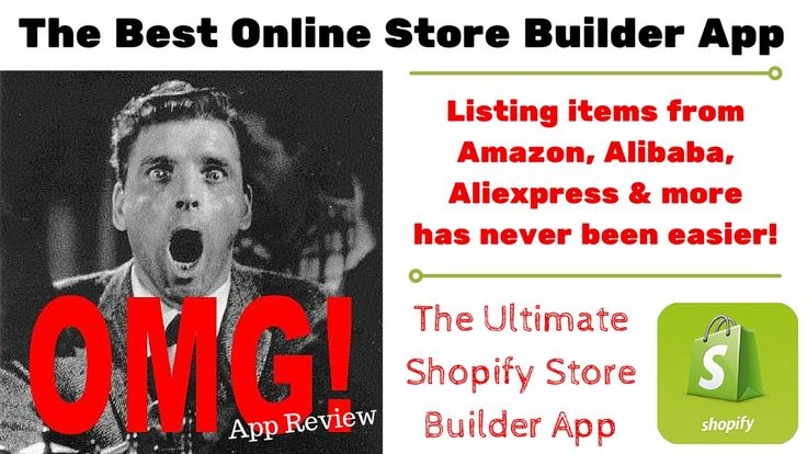 Best Online Store Builder   Shopify Store Builder - Super Easy & Time Sa...