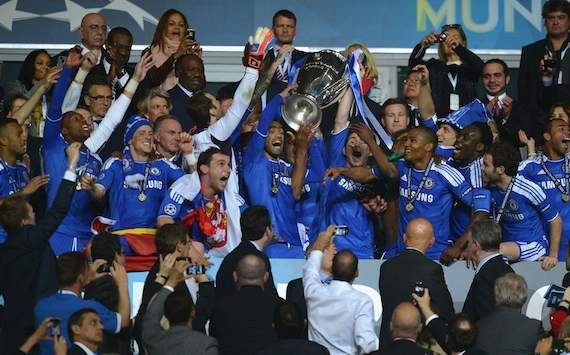 THE BLUES CHELSEA CHAMPIONS 2011-2012