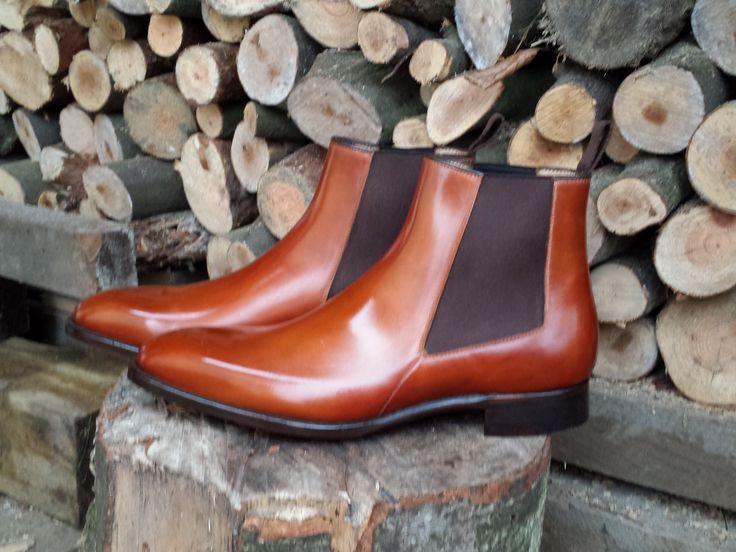 Chelsea boots/ sztyblety Carlos Santos model 7902 Braga