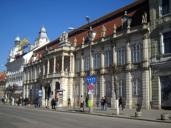 And this is the city that will be my home next year! Cluj-Napoca, Romania...
