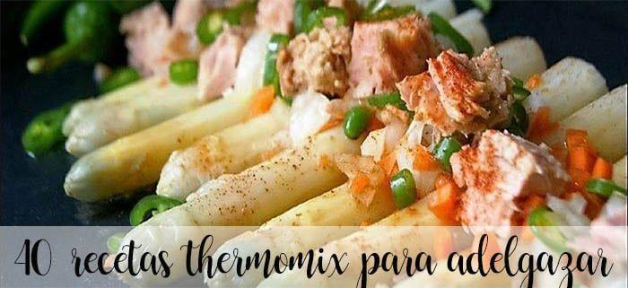 Recetas para adelgazar thermomix
