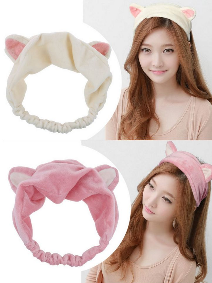Eep um omigosh cuuuuute!!!!!!!!~ .//w//. This could be so great for days when hard headbands are too painful~ .////.