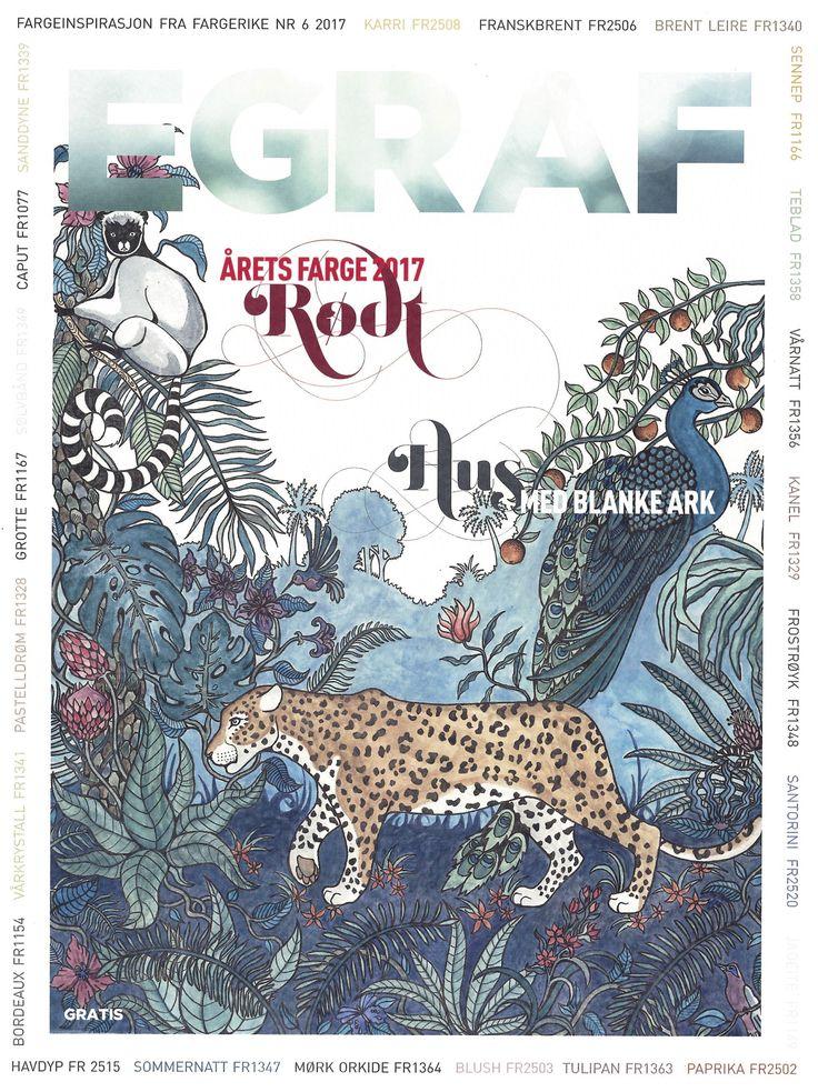 Illustration for Egraf Magazine