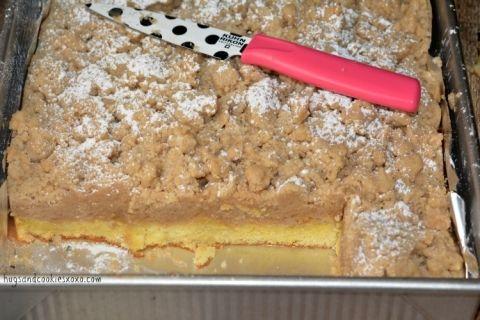 crumb cake sheet pan