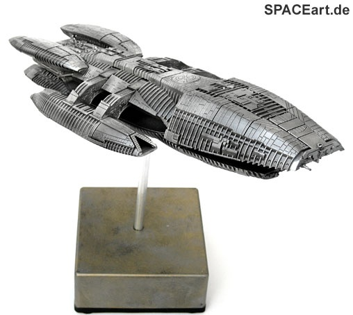 Battlestar Galactica: New Galactica - Metal Finish, Fertig-Modell, http://spaceart.de/produkte/bsg013.php