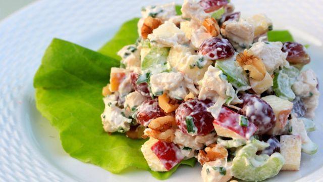 Salada waldorf tradicional