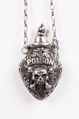 Poison pendant.
