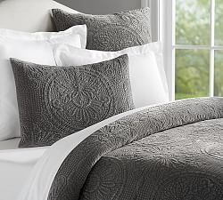 Quilts, Patchwork Quilts & Quilt Sets | Pottery Barn  Available in three colors including white