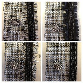 Chanel Tweed Jacket Underway: Trim and Fringe | Just Keep Sewing
