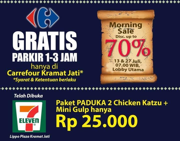 Lippo Plaza Kramat Jati: Promo Morning Sale Discount up to 70% 13 & 27 July 2014 @lippoplazakj