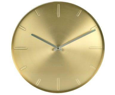 Настенные часы - металл - золотистый, 40х3 см