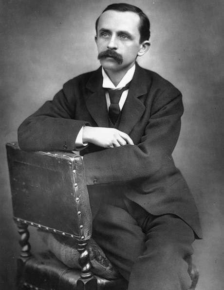 J.M. Barrie...author of Peter Pan
