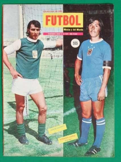 1973 Leon Jorge Davino Revista De Futbol Coleccion De Oro