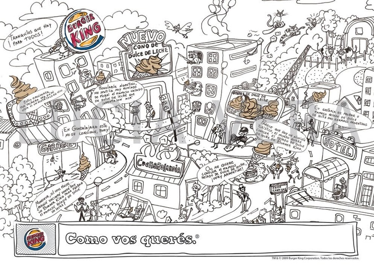 Ilustracion para Burger King