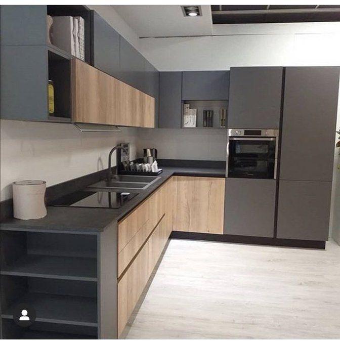 مستشار المطابخ On Twitter Kitchen Inspiration Design Modern Kitchen Cabinet Design Interior Design Kitchen Small
