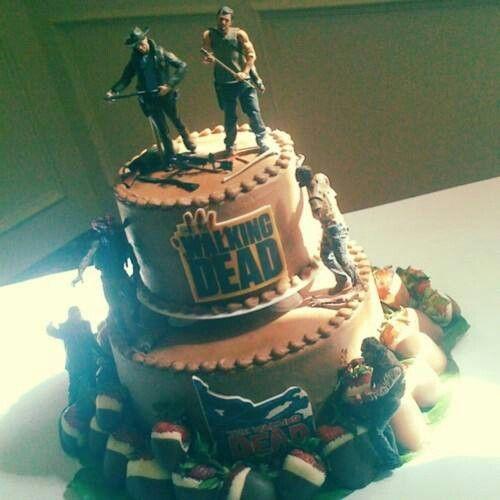 walking dead cake   Walking Dead Cake   Birthday Party Ideas