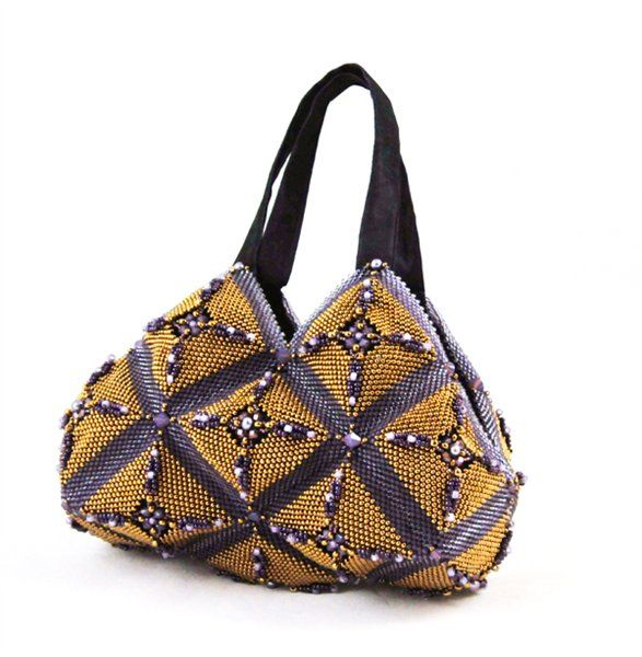 Beaded Purse by Tracy Vincent