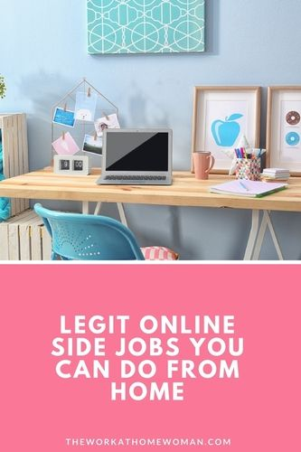 Do you want to work from home? Legit online side jobs, otherwise known as side hustles, can be an excellent way to earn extra money and work from home. Here are five good options to get started.
