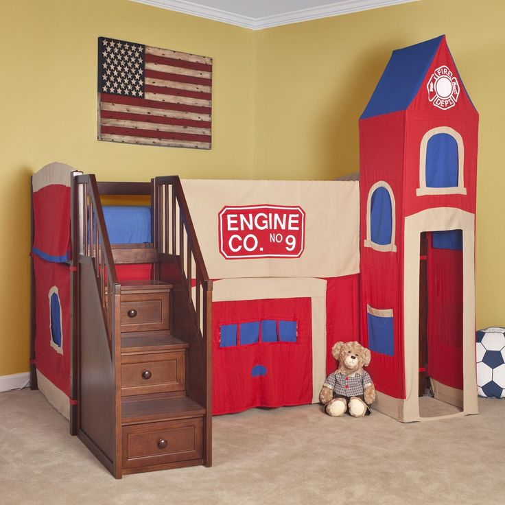 Inspiring Bunk Beds For Kids With Stairs Ideas Twin Bed
