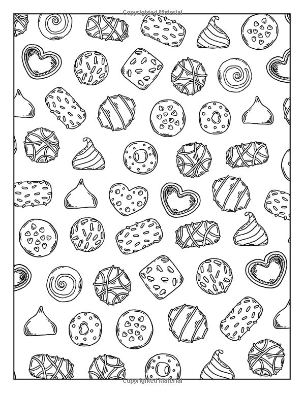950 best images about coloring pages on pinterest dovers for Sweet treats coloring pages
