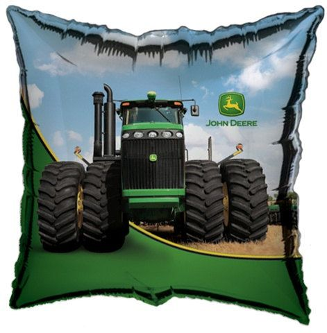"""18"""" John Deere Tractor Foil Mylar Balloons birthday party supplies decorations farm theme party"""