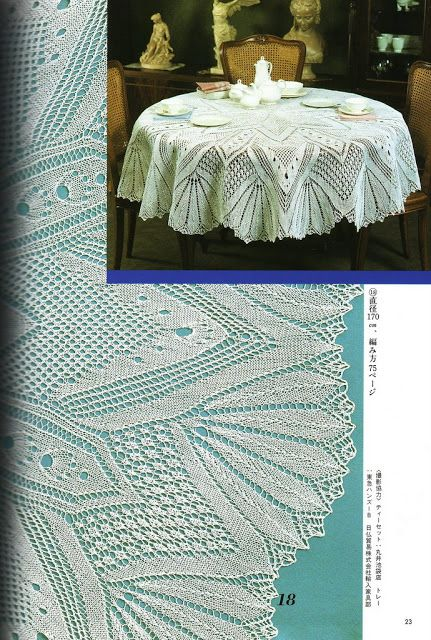 Knitted Lace Designs - 九秋九秋 - Picasa Web Albums