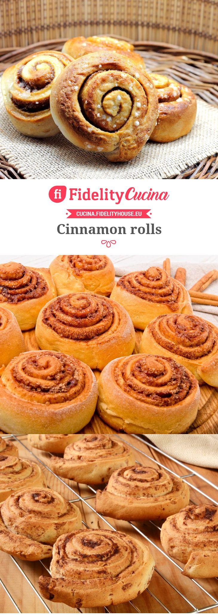 Ricetta cinnamon rolls cibo ricette dolci ricette e dolci for Ricette cibo