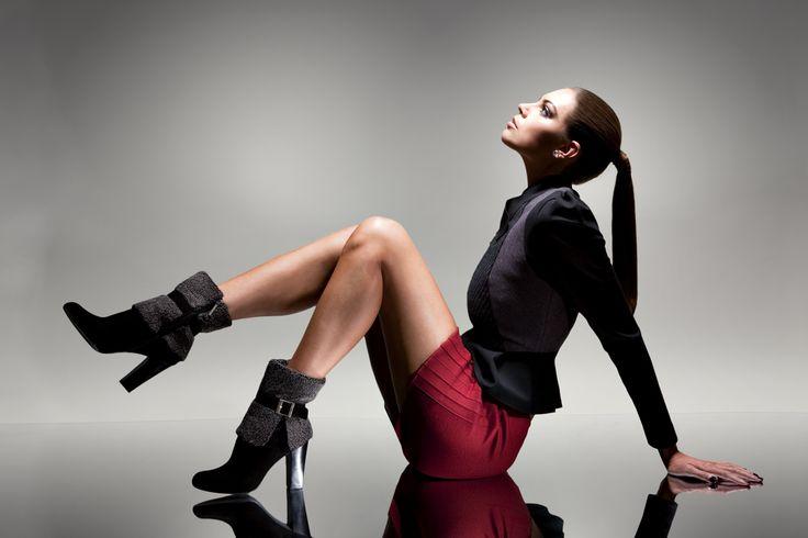 Bu senenin modası kürklü botlar ile çok şık olacaksınız! Kadın Modası Sonbahar Kış Sezonu