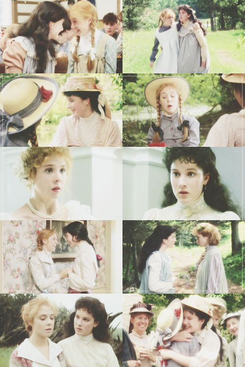Anne Shirley and Diana Barry, bosom friends.