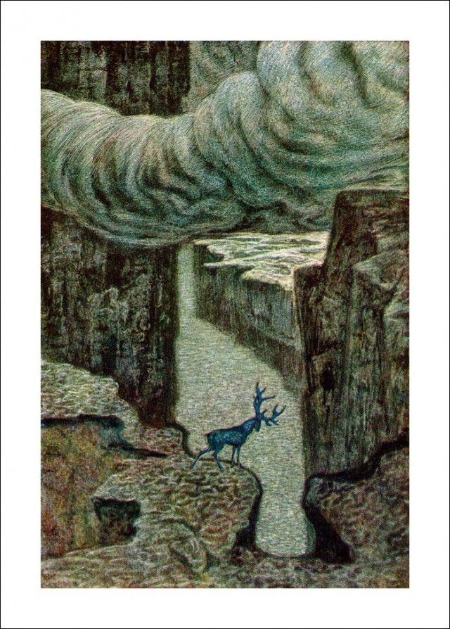 """Henrik Ibsen 'Peer Gynt' """"A deer"""" by Савва Бродский"""
