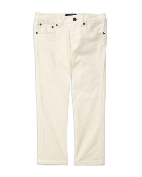 Ralph Lauren Childrenswear Girls' Skinny Velveteen Pants - Sizes 2-6X