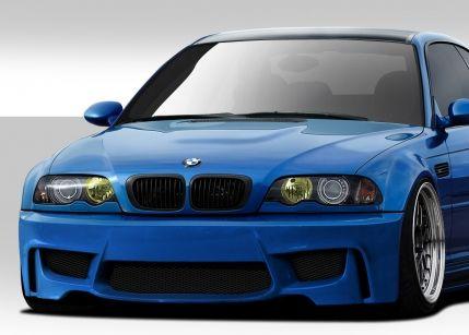 2001-2006 BMW M3 E46 Duraflex 1M Look Front Bumper Cover - 1 Piece