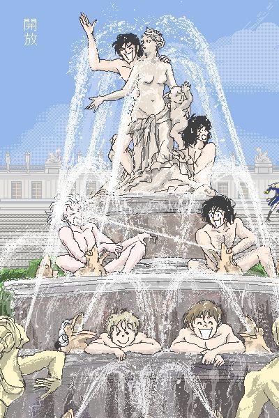 Gardes Françaises - Versailles no bara || Lol. I loved this fan art