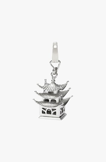 Fossil Pagoda Dangle Charm available at #Nordstrom