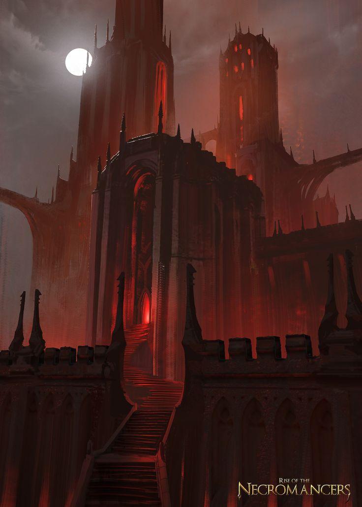 ArtStation - Academies of the Necromancers, Simon Fetscher